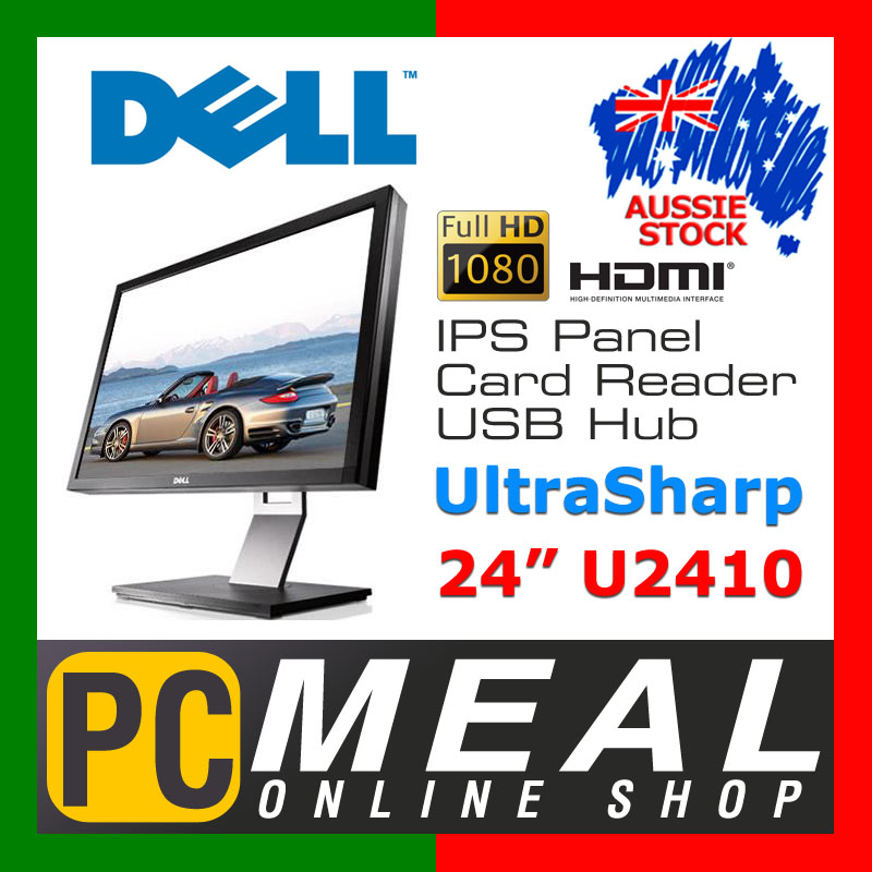 Dell-UltraSharp-U2410-24-Full-HD-IPS-Widescreen-LCD-Monitor-HDMI-USB-Card-Reader