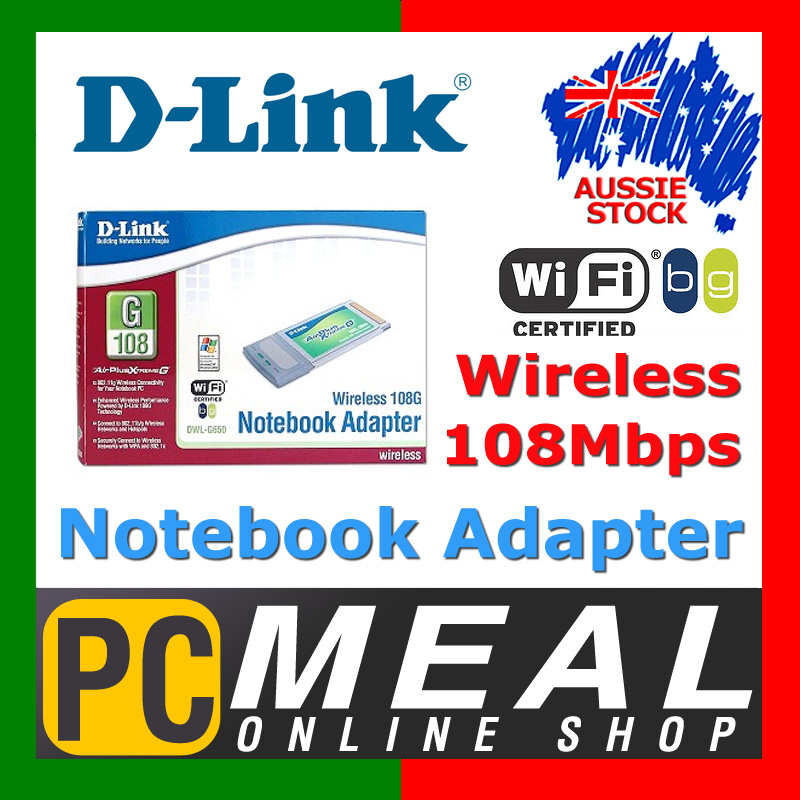 NEW-D-Link-DWL-G650-108M-108-Wireless-Cardbus-Laptop-3Y