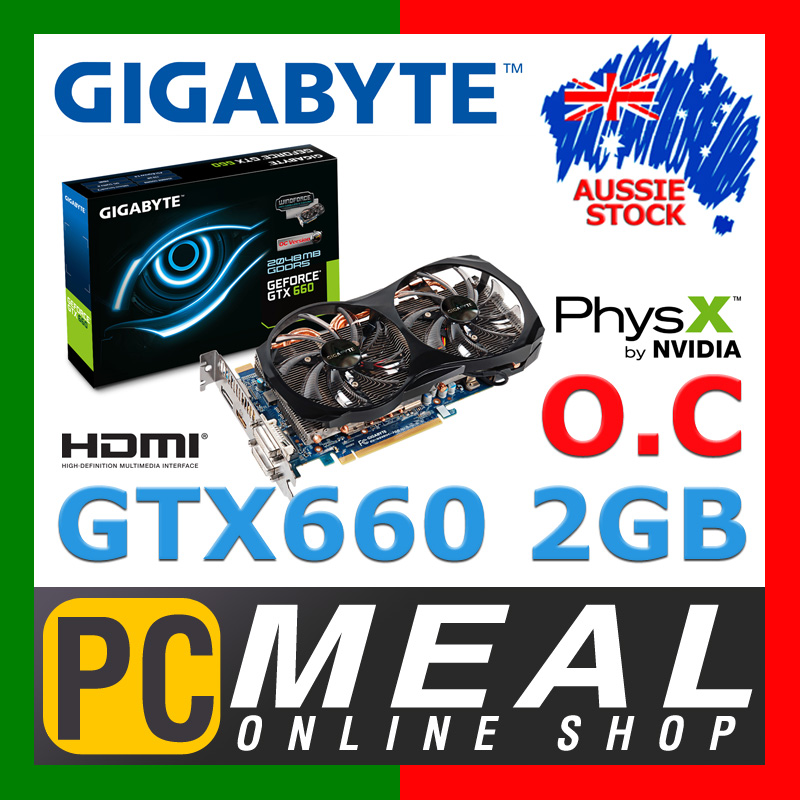 GIGABYTE-GeForce-GTX660-2GB-Gaming-Video-Card-OC-2048MB-nVIDIA-Graphics-HDMI-DVI
